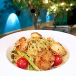 wanna-cuppa-singapore-cafe-bistro-pan-seared-scallop-lemon-caper